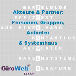 GiroWeb GV Glossar & Lexikon: Akteure, Partner & Stakeholder | Personen – Gruppen – Anbieter – Systemhaus