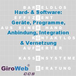GiroWeb GV Glossar & Lexikon: Hard- & Software | Geräte - Systeme - Programme - Anbindung - Integration - Vernetzung