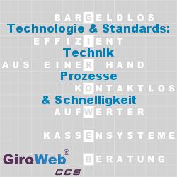 GiroWeb GV Glossar & Lexikon: Technologie & Standards | Technik - Prozesse - Schnelligkeit