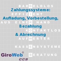 GV Glossar & Lexikon | Themen-Bereich Zahlungssysteme: Aufladung - Vorbestellung - Bezahlung - Abrechnung