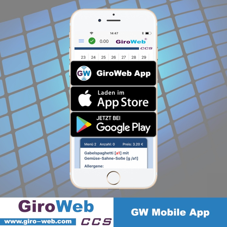 GiroWeb App für Apple / ios & Google / Android