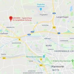 GiroWeb Deutschland - Regionalgesellschaft Nord: Anfahrt Garbsen (Niedersachsen)