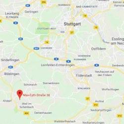 GiroWeb Deutschland - Regionalgesellschaft Süd: Anfahrt Holzgerlingen (Baden-Württemberg)
