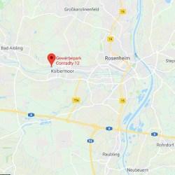 GiroWeb Deutschland - Regionalgesellschaft Südost: Anfahrt Kolbermoor (Bayern)