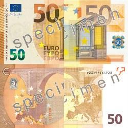 Neuer Geldschein: Einführung 50 € Banknote