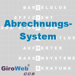 GiroWeb FAQ für Gemeinschaftsverpflegung (GV) & Catering: Was ist ein Abrechnungssystem?