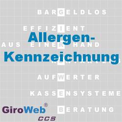 GiroWeb FAQ: Allergenkennzeichnung