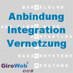 GiroWeb FAQ für Gemeinschaftsverpflegung (GV) & Catering: Was ist Anbindung? Was ist Integration? Was ist Vernetzung?