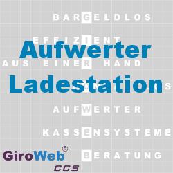 GiroWeb FAQ für Gemeinschaftsverpflegung (GV) & Catering: Was ist ein Aufwerter? Was ist eine (Auf-) ladestation?
