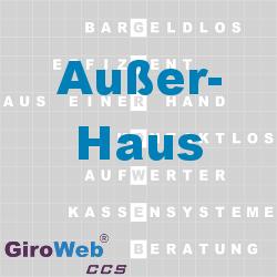 GiroWeb FAQ für Gemeinschaftsverpflegung (GV) & Catering: Was ist Außer-Haus?