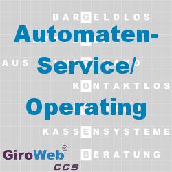 GiroWeb FAQ für Gemeinschaftsverpflegung (GV) & Catering: Was ist Automaten-Service? Was ist Operating?