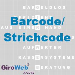 GiroWeb FAQ für Gemeinschaftsverpflegung (GV) & Catering: Was ist ein Barcode? Was ist ein Strichcode?