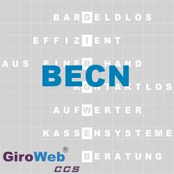GiroWeb FAQ für Gemeinschaftsverpflegung (GV) & Catering: Was ist der BECN?