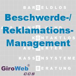 GiroWeb FAQ für Gemeinschaftsverpflegung (GV) & Catering: Was ist Reklamationsmanagement? Was ist Beschwerdemanagement?