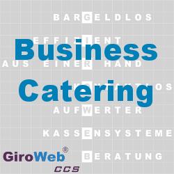 GiroWeb FAQ für Gemeinschaftsverpflegung (GV) & Catering: Was ist Business Catering?