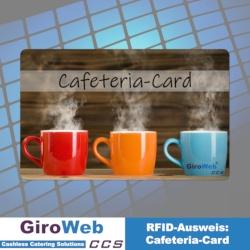 Kartenbeispiel: Chipkarten-Ausweise - Cafeteria-Card