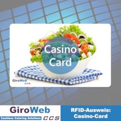 Kartenbeispiel: Chipkarten-Ausweise - Casino-Card