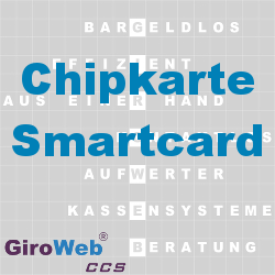 GiroWeb FAQ für Gemeinschaftsverpflegung (GV) & Catering: Was ist eine Chipkarte? Was ist eine Smartcard?