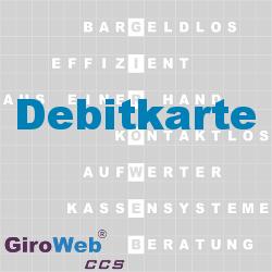GiroWeb FAQ für Gemeinschaftsverpflegung (GV) & Catering: Was ist eine Debitkarte?