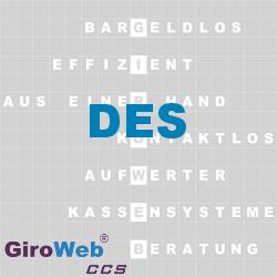 GiroWeb FAQ für Gemeinschaftsverpflegung (GV) & Catering: Was ist ein Data Encryption Standard?