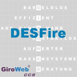 GiroWeb FAQ für Gemeinschaftsverpflegung (GV) & Catering: Was ist DESFire?