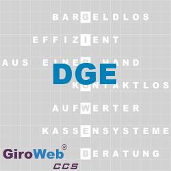 GiroWeb FAQ für Gemeinschaftsverpflegung (GV) & Catering: Was ist DGE?