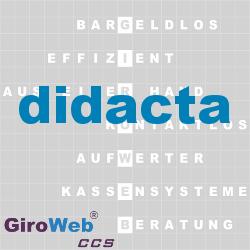 GiroWeb FAQ für Gemeinschaftsverpflegung (GV) & Catering: Was ist die didacta?
