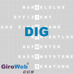 GiroWeb FAQ für Gemeinschaftsverpflegung (GV) & Catering: Was ist DIG?