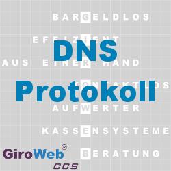 GiroWeb FAQ für Gemeinschaftsverpflegung (GV) & Catering: Was ist DNS?
