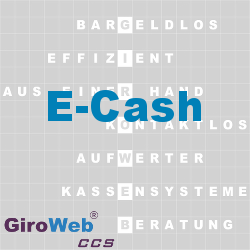 GiroWeb FAQ für Gemeinschaftsverpflegung (GV) & Catering: Was ist E-Cash?