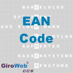 GiroWeb FAQ für Gemeinschaftsverpflegung (GV) & Catering: Was ist EAN?