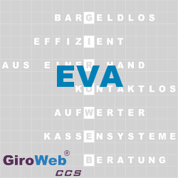 GiroWeb FAQ für Gemeinschaftsverpflegung (GV) & Catering: Was ist EVA?