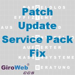 GiroWeb FAQ für Gemeinschaftsverpflegung (GV) & Catering: Was ist Fix, Patch, Service-Pack oder Update?