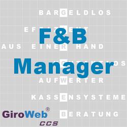 GiroWeb FAQ für Gemeinschaftsverpflegung (GV) & Catering: Was ist ein F&B-Manager?