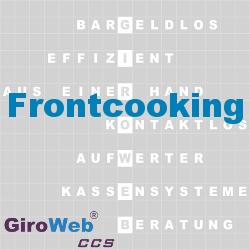 GiroWeb FAQ für Gemeinschaftsverpflegung (GV) & Catering: Was ist Frontcooking?