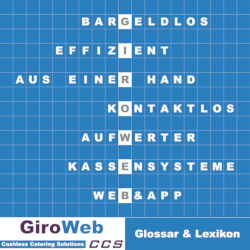 GiroWeb GV Glossar & Lexikon für Gemeinschafts-Verpflegung & bargeldlosen Zahlungsverkehr