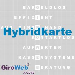 GiroWeb FAQ für Gemeinschaftsverpflegung (GV) & Catering: Was ist eine Hybrid-Karte?