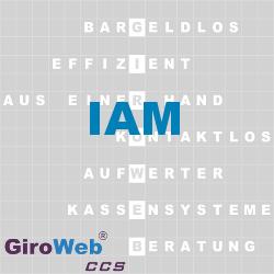 GiroWeb FAQ für Gemeinschaftsverpflegung (GV) & Catering: Was ist IAM?