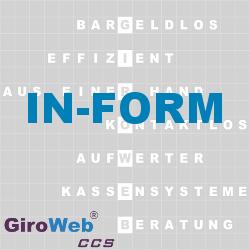 GiroWeb FAQ für Gemeinschaftsverpflegung (GV) & Catering: Was ist IN FORM?