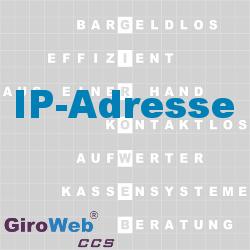 GiroWeb FAQ für Gemeinschaftsverpflegung (GV) & Catering: Was ist eine IP-Adresse?