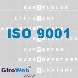 GiroWeb FAQ für Gemeinschaftsverpflegung (GV) & Catering: Was ist ISO 9001?