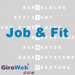 GiroWeb FAQ für Gemeinschaftsverpflegung (GV) & Catering: Was ist Job & Fit?