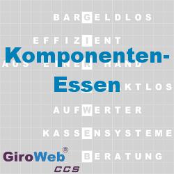 GiroWeb FAQ für Gemeinschaftsverpflegung (GV) & Catering: Was ist Komponenten-Essen?