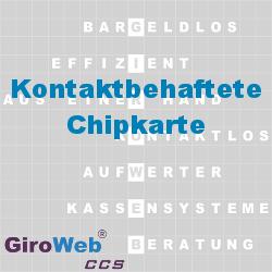 GiroWeb FAQ für Gemeinschaftsverpflegung (GV) & Catering: Was ist eine kontaktbehaftete Chipkarte?
