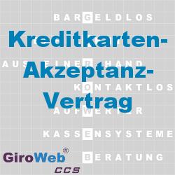 GiroWeb FAQ für Gemeinschaftsverpflegung (GV) & Catering: Was ist ein Kreditkarten-Akzeptanz-Vertrag?