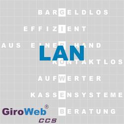 GiroWeb FAQ für Gemeinschaftsverpflegung (GV) & Catering: Was ist ein LAN?