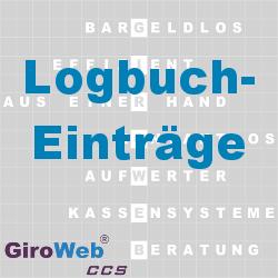 GiroWeb FAQ für Gemeinschaftsverpflegung (GV) & Catering: Was ist ein Logbuch-Eintrag?