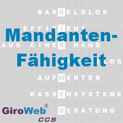 GiroWeb FAQ für Gemeinschaftsverpflegung (GV) & Catering: Was ist Mandantenfähigkeit?