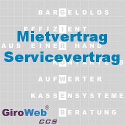 GiroWeb FAQ für Gemeinschaftsverpflegung (GV) & Catering: Was ist ein Mietvertrag? Was ist ein Servicevertrag?