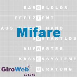 GiroWeb FAQ für Gemeinschaftsverpflegung (GV) & Catering: Was ist Mifare?